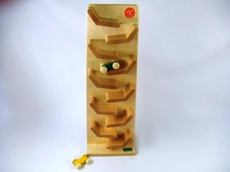 クネクネバーン 木のおもちゃ スロープ BECK (ベック社)