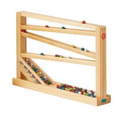 送料無料!ベック社シロフォン付玉の塔 木のおもちゃ スロープ 木製 木のおもちゃ 出産祝い クーゲルバーン 知育玩具 木製