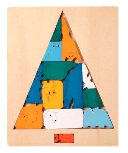トリックパズル・ツリーオブライフ パズル 木 木製 木のおもちゃ 幼児 高級