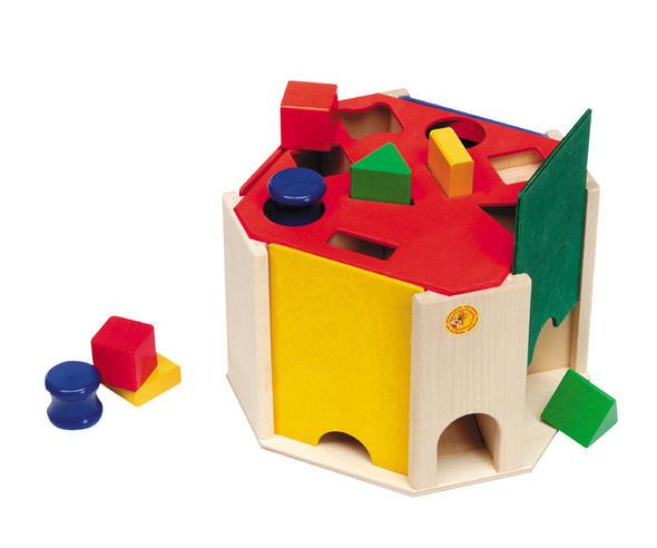 セレクタ社の型はめ クアトリノ 木のおもちゃ 型はめ 1才 知育玩具 1歳 2歳 木製 パズル 出産祝い ラッピング無料