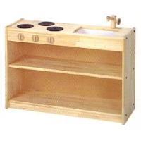 白木流し台(普及版) 木のおもちゃ ままごと キッチン ミニキッチンセット 送料無料