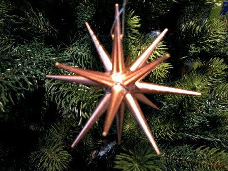 ERZオーナメント ベツレヘム ブロンズの星(小)立体