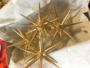 ERZオーナメント ベツレヘムの星(大)立体 金の星 4個セット