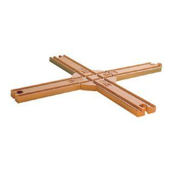 レールクロスA(9625) MICKI ミッキィ社 汽車セット 木製レール 木のおもちゃ 木製 汽車 レール 出産祝いお誕生日 知育玩具
