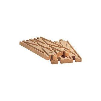 レールクロスB(9632) MICKI ミッキィ社 汽車セット 木製レール 木のおもちゃ 木製 汽車 レール 出産祝いお誕生日 知育玩具