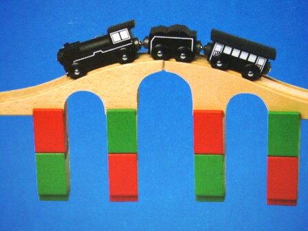 レール・橋げた【受注発注】 MICKI ミッキィ社 汽車セット 木製レール 木のおもちゃ 木製 汽車 レール 出産祝いお誕生日 知育玩具