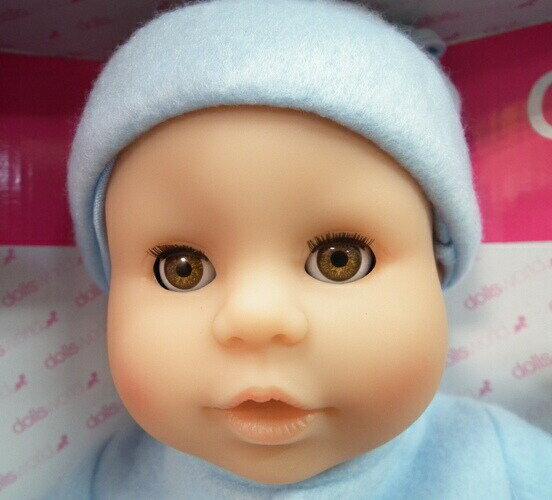 抱っこしたくなるお人形♪ ピーターキンベビー・ブルー 人形 ままごと お世話 女の子 ごっこ遊び