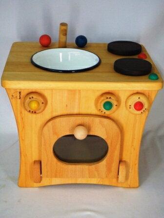 プッペンキッチン 木のおもちゃ ままごと キッチン ミニキッチンセット 送料無料