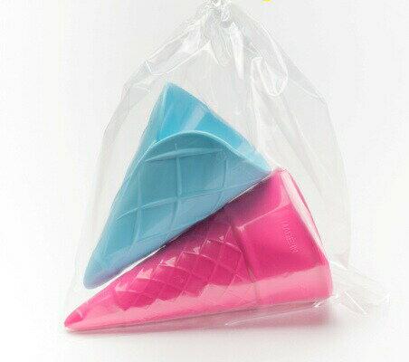 フックス・アイスコーン2ヶセット 砂遊び 外遊び プラスチック スコップ