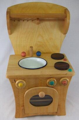 プッペンキッチン・ボード付 木のおもちゃ ままごと キッチン ミニキッチンセット