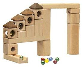 スカリーノ 鈴の塔セット ピタゴラスイッチ 玉ころがし 玉の道 遊び方説明書付 scalino 木のおもちゃ 積み木