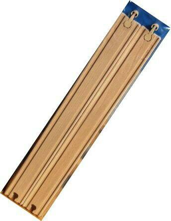 ロングレール2本(9664) MICKI ミッキィ社 汽車セット 木製レール 木のおもちゃ 木製 汽車 レール 出産祝いお誕生日 知育玩具