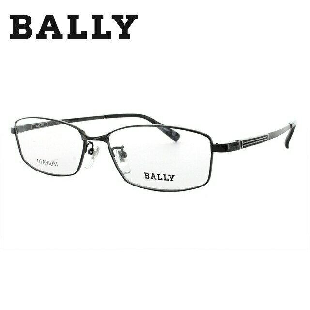 バリー メガネ 伊達レンズ無料 0円 メガネフレーム BALLY BY3017J 3 56 ブラック 調整可能ノーズパッド