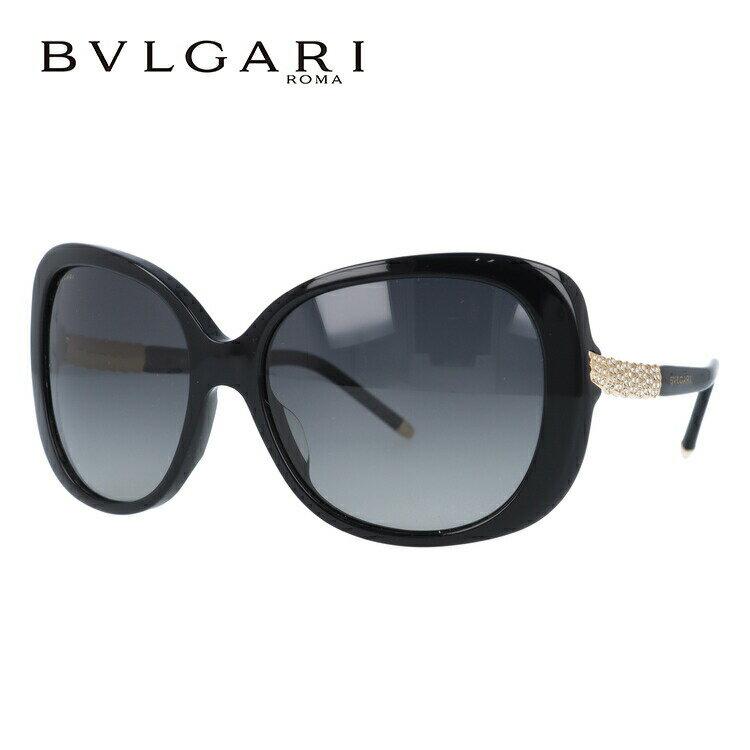 ブルガリ サングラス BVLGARI BV8105BA 501/T3 59 ブラック/グレーグラデーション 偏光レンズ レディース 国内正規品 UVカット