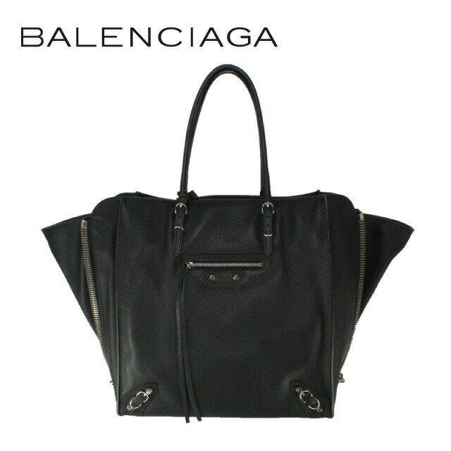 バレンシアガ バッグ BALENCIAGA トートバッグ 357330 DLQ0N 1000 ペーパー A5 PAPIER A5 ブラック レディース レザー