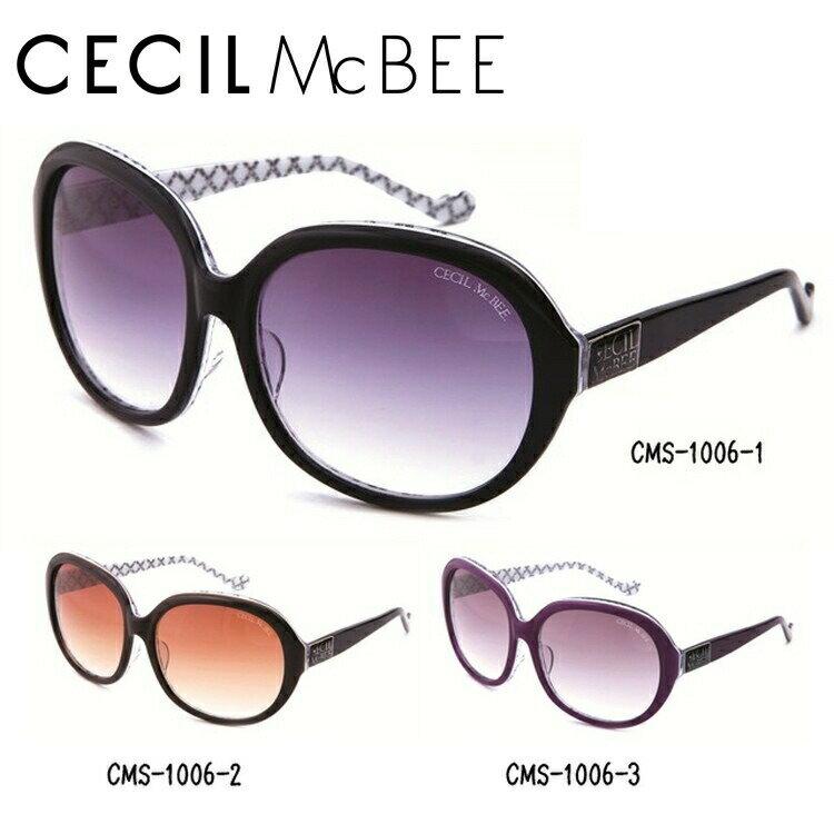セシルマクビー サングラス CECIL McBEE CMS1006-1/CMS1006-2/CMS1006-3 レディースブランド 女性 UVカット アイウェア 新品