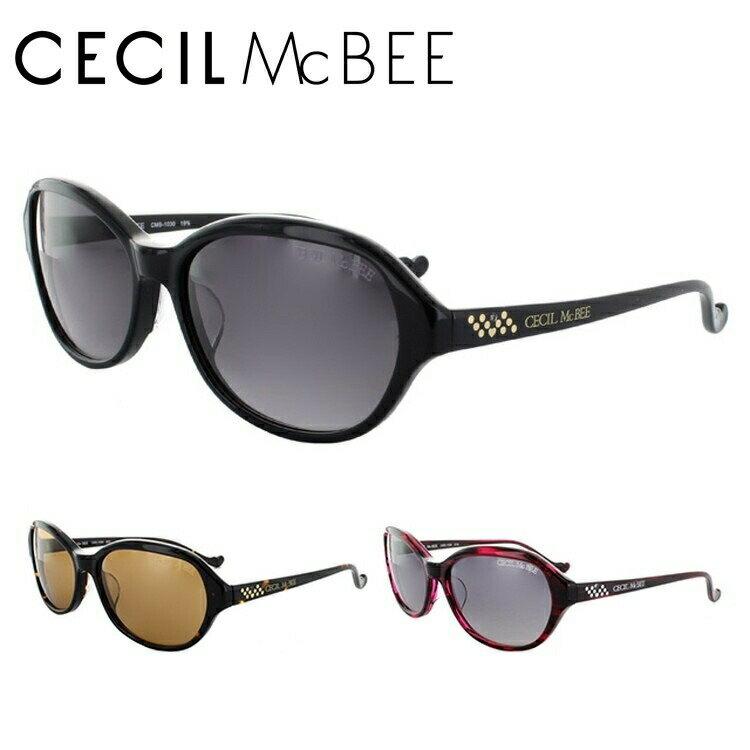 セシルマクビー サングラス CECILMcBEE CMS1030-1/CMS1030-2/CMS1030-3 アジアンフィット レディース UVカット 新品
