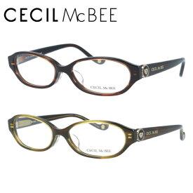 【選べる無料レンズ → 伊達レンズ・老眼鏡レンズ】 セシルマクビー メガネフレーム CECIL McBEE CMF7020-2/CMF7020-4 レディースブランド