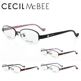 【選べる無料レンズ → PCレンズ・伊達レンズ・老眼鏡レンズ】 セシルマクビー メガネフレーム CECIL McBEE CMF3016-1/CMF3016-2/CMF3016-3/CMF3016-4 オーバル レディースブランド