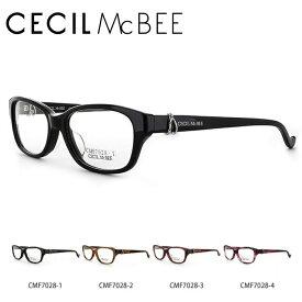 【選べる無料レンズ → 伊達レンズ・老眼鏡レンズ】 セシルマクビー メガネフレーム CECILMcBEE CMF7028-1/CMF7028-2/CMF7028-3/CMF7028-4 アジアンフィット レディース