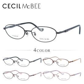【選べる無料レンズ → PCレンズ・伊達レンズ・老眼鏡レンズ】セシルマクビー メガネフレーム 伊達メガネ CECIL McBEE CMF3037 全2カラー 52サイズ オーバル ユニセックス メンズ レディース