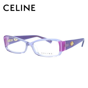 【選べる無料レンズ → PCレンズ・伊達レンズ・老眼鏡レンズ】 セリーヌ メガネフレーム 伊達メガネ アジアンフィット CELINE VC1611M 09DQ 53サイズ スクエア レディース ブラゾン アイコン ロゴ