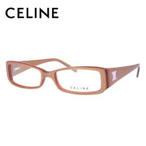 【選べる無料レンズ → PCレンズ・伊達レンズ・老眼鏡レンズ】 セリーヌ メガネフレーム 伊達メガネ アジアンフィット CELINE VC1640C 09QG 52サイズ スクエア レディース ブラゾン アイコン ロゴ