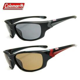 コールマン サングラス 偏光レンズ アジアンフィット COLEMAN CM4023 全2カラー 60サイズ スポーツ(フルリム) スポーツ メンズ レディース 【ケース付き】