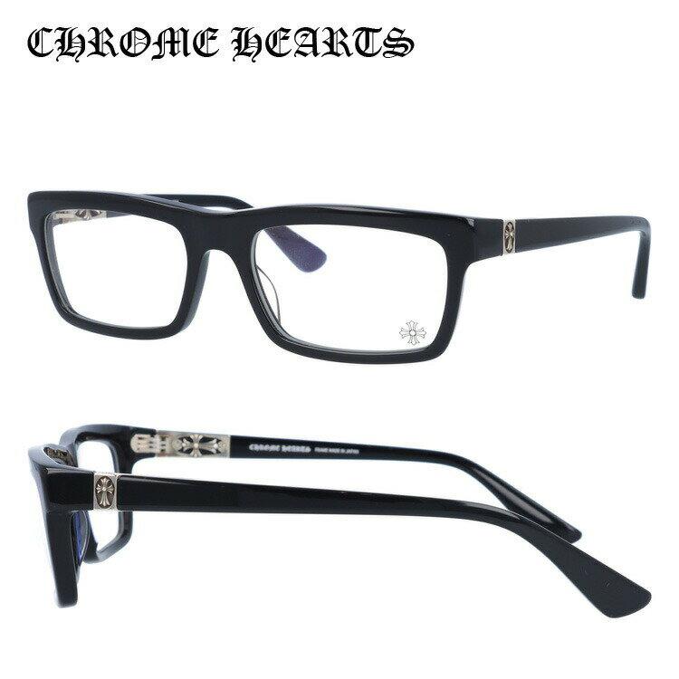 クロムハーツ メガネ 伊達レンズ無料 0円 メガネフレーム Chrome Hearts クロス PENETRANUS BK Black メンズ レディース UVカット
