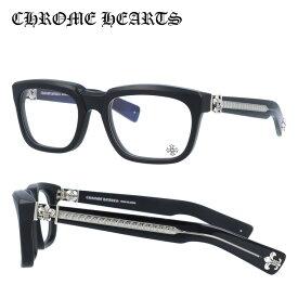 【選べる無料レンズ → PCレンズ・伊達レンズ・老眼鏡レンズ】クロムハーツ メガネフレーム Chrome Hearts SEE YOU IN TEA 53 MBK Black ブラック シルバー メンズ レディース UV