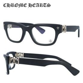 【選べる無料レンズ → PCレンズ・伊達レンズ・老眼鏡レンズ】 クロムハーツ メガネフレーム レギュラーフィット CHROME HEARTS BANGADANG I MBK 50サイズ ウェリントン ユニセックス メンズ レディース
