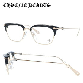 【選べる無料レンズ → PCレンズ・伊達レンズ・老眼鏡レンズ】 クロムハーツ メガネフレーム CHROME HEARTS SLUNTRADICTION BK/GP 52サイズ ブロー ユニセックス メンズ レディース