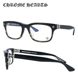 【選べる無料レンズ → PCレンズ・伊達レンズ・老眼鏡レンズ】 クロムハーツ メガネフレーム レギュラーフィット CHROME HEARTS VAGILANTE BMZ 54サイズ スクエア ユニセックス メンズ レディース