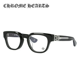 【選べる無料レンズ → PCレンズ・伊達レンズ・老眼鏡レンズ】クロムハーツ メガネフレーム 伊達メガネ レギュラーフィット CHROME HEARTS CUNTVOLUTED BK 49サイズ ウェリントン ユニセックス メンズ レディース