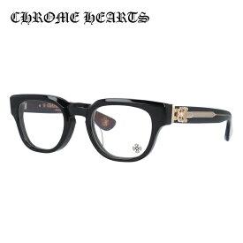 【選べる無料レンズ → PCレンズ・伊達レンズ・老眼鏡レンズ】クロムハーツ メガネフレーム 伊達メガネ レギュラーフィット CHROME HEARTS CUNTVOLUTED BK-18GP 49サイズ ウェリントン ユニセックス メンズ レディース