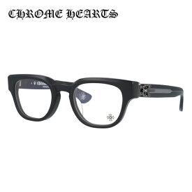 【選べる無料レンズ → PCレンズ・伊達レンズ・老眼鏡レンズ】クロムハーツ メガネフレーム 伊達メガネ レギュラーフィット CHROME HEARTS CUNTVOLUTED MBK 49サイズ ウェリントン ユニセックス メンズ レディース