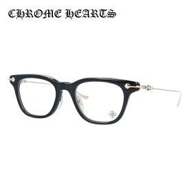 【選べる無料レンズ → PCレンズ・伊達レンズ・老眼鏡レンズ】クロムハーツ メガネフレーム 伊達メガネ CHROME HEARTS GUZZLER-A BK-GP 49サイズ スクエア ユニセックス メンズ レディース 日本製フレーム クロス