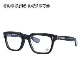 【選べる無料レンズ → PCレンズ・伊達レンズ・老眼鏡レンズ】クロムハーツ メガネフレーム 伊達メガネ レギュラーフィット CHROME HEARTS DAFFADLDO MBK 53サイズ 海外正規品 スクエア ユニセックス メンズ レディース 日本製 フローラル