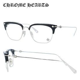 【選べる無料レンズ → PCレンズ・伊達レンズ・老眼鏡レンズ】クロムハーツ メガネフレーム 伊達メガネ CHROME HEARTS SLUNTRADICTION BK/SS 54サイズ 海外正規品 ブロー ユニセックス メンズ レディース 日本製 クロス CHプラス