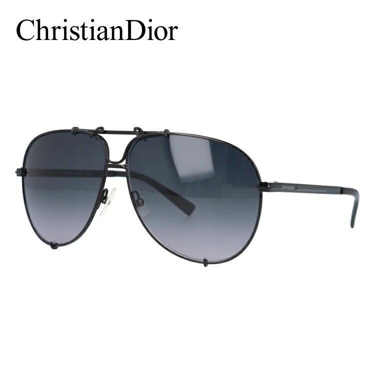 クリスチャン・ディオール サングラス Christian Dior ディオール オム DIOR 0175S 006/HD 61 ブラック DIOR HOMME メンズ UVカット 新品
