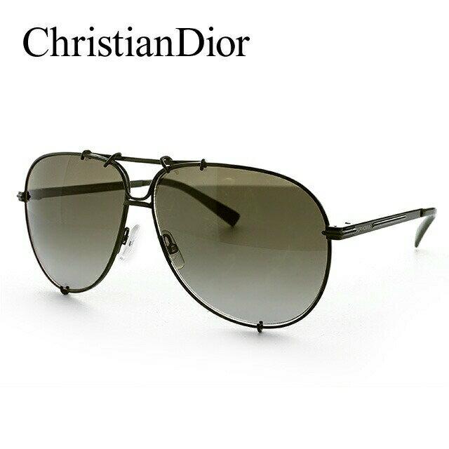 【訳あり】クリスチャン・ディオール サングラス Christian Dior ディオール オム DIOR 0175S 5SI/HA 61 カーキ DIOR HOMME メンズ UVカット