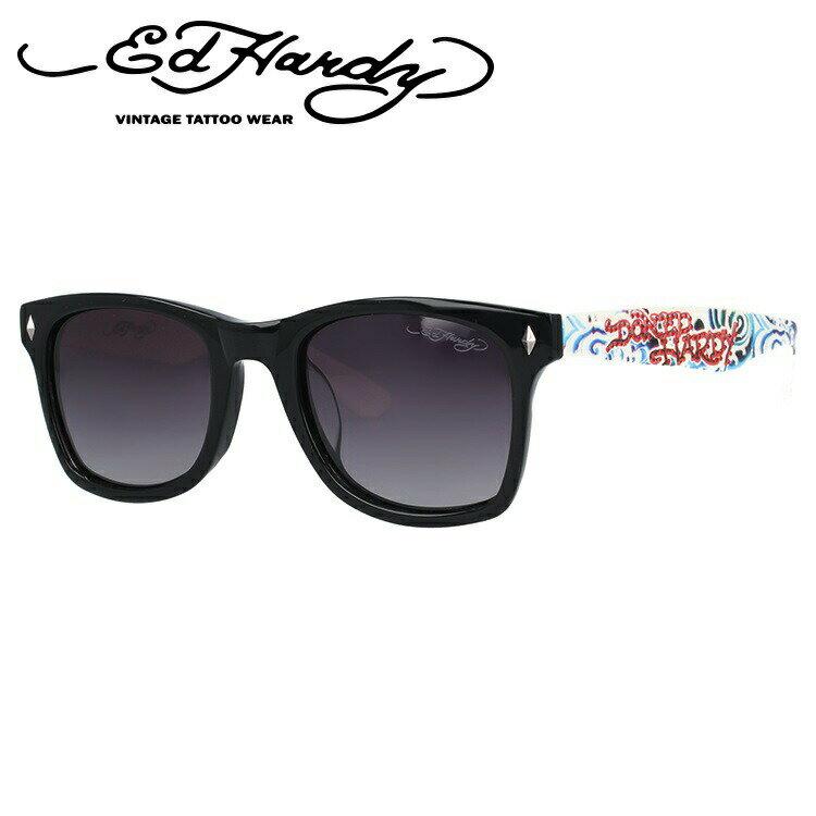 エドハーディー サングラス EdHardy WAVE ウェーブ ブラック&ホワイト サングラス UVカット 新品