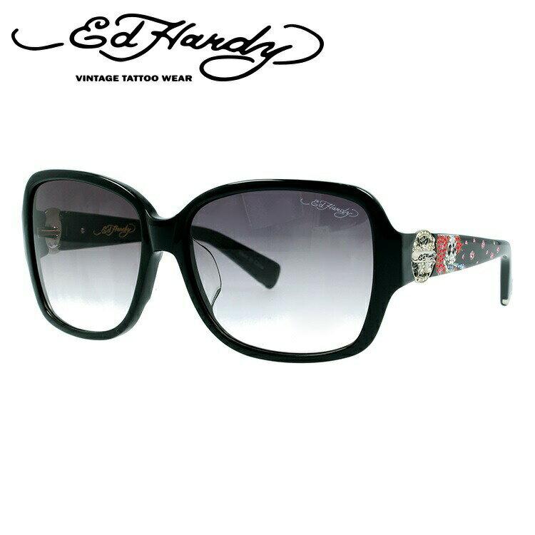 エドハーディー サングラス EDHARDY ビューティフル ゴースト BEAUTIFUL GHOST 2 BLACK メンズ レディース UVカット 新品