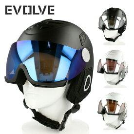 イヴァルブ ヘルメット EVOLVE EVH 001 全4カラー/2サイズ ユニセックス メンズ レディース スキー スノーボード バイザーヘルメット