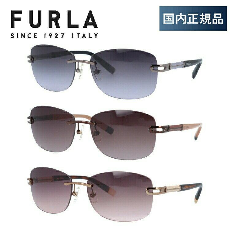フルラ サングラス FURLA SU4312J 0568/0300/0A75/08FE 59 アジアンフィット メンズ レディース 国内正規品 UVカット 新品