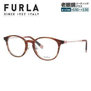 フルラ サングラス オリジナルレンズカラーライトカラー メガネフレーム 伊達メガネ FURLA VFU275J 06XE 48サイズ ウェリントン ユニセックス メンズ レディース