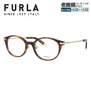 フルラ サングラス オリジナルレンズカラーライトカラー メガネフレーム 伊達メガネ FURLA VFU214J 全2カラー 49サイズ ウェリントン ユニセックス メンズ レディース