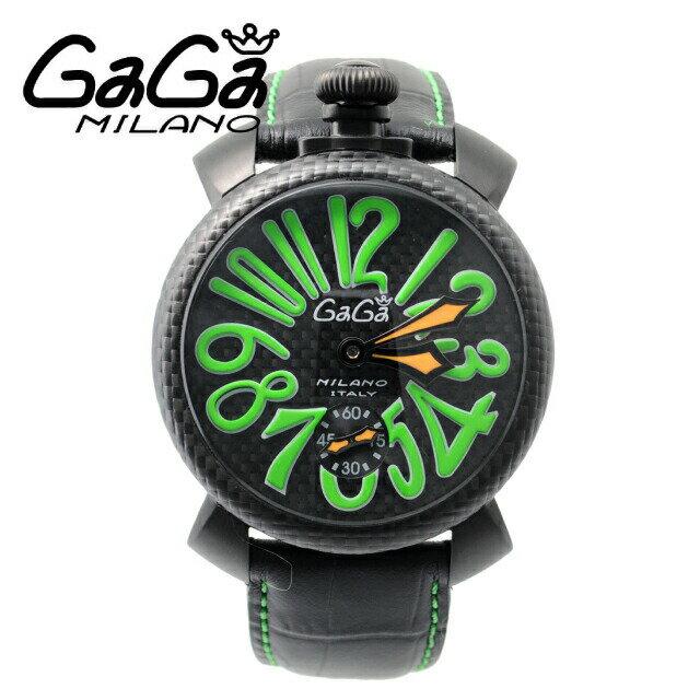 GaGa MILANO ガガミラノ 腕時計 ウォッチ 5016.3 / 5016-3 Carbon Green 【保証書なし】