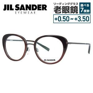 【選べる無料レンズ → PCレンズ・伊達レンズ・老眼鏡レンズ】 ジルサンダー メガネフレーム JIL SANDER J2001-C 52サイズ 調整可能ノーズパッド レディース