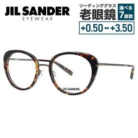 【選べる無料レンズ → PCレンズ・伊達レンズ・老眼鏡レンズ】 ジルサンダー メガネフレーム JIL SANDER J2001-D 52サイズ 調整可能ノーズパッド レディース